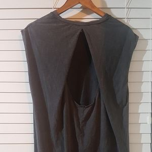 Topshop size 10 grunge maxi t-shirt dress